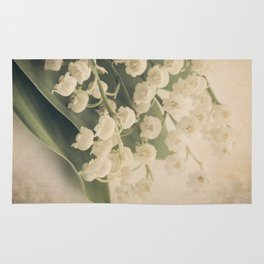 Scents of Spring - Lily of the Valley ii Rug