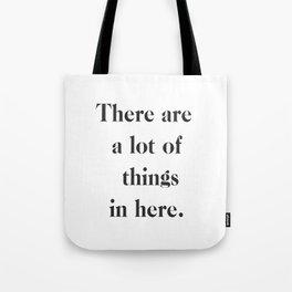 Lots of Things Bag Tote Bag