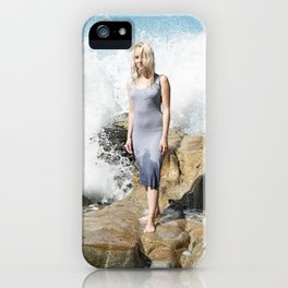Ocean's Pulse iPhone Case