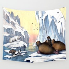 Polar Convention Wall Tapestry
