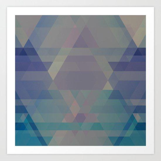 The Clearest Line VII Art Print
