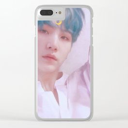 BTS - Yoongi Clear iPhone Case