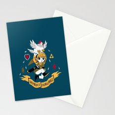 hyrule airlines Stationery Cards