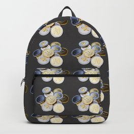 Cryptocurrency Pattern Backpack