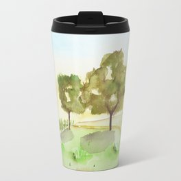 A simple landscape Travel Mug