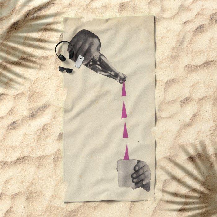 A Stiff Drink Beach Towel
