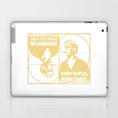 Stay (Nothing Gold Can Stay) Ponyboy Laptop & iPad Skin