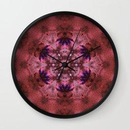 Deep Space Harmonics Mandala Wall Clock