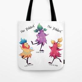 Dancing Yabbuts Tote Bag