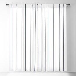 Pinstripes Blackout Curtain