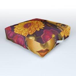 Frida Flowers Outdoor Floor Cushion