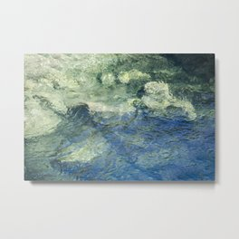 Clean Clear Clarity Metal Print