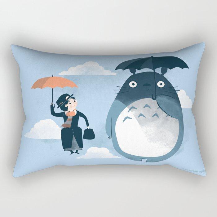 The Perfect Neighbor Rectangular Pillow