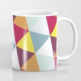 WARM AND COLD TRIANGLES Coffee Mug