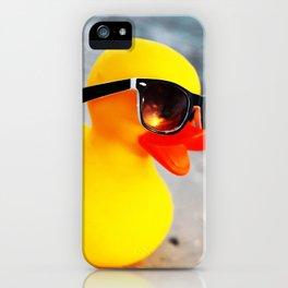 Beach Duck iPhone Case