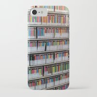 bookworm iPhone & iPod Cases featuring Bookworm by Anabella Nolasco