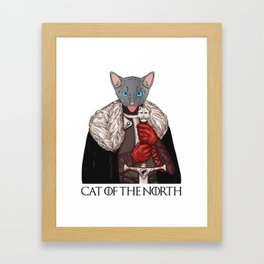 Cat of the North Framed Art Print