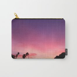 Purple Sunset Sky Carry-All Pouch