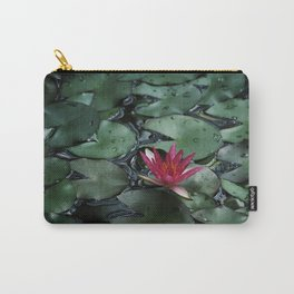 Lost Among the Lily Pads Carry-All Pouch