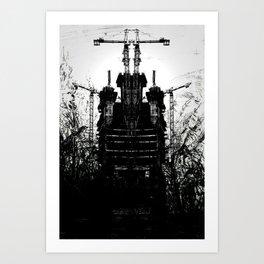 Blackwell Towers Art Print