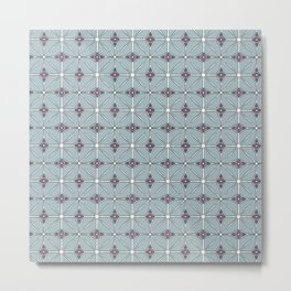 Geometrical patterns Metal Print