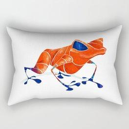 Poison Dart Frog Rectangular Pillow