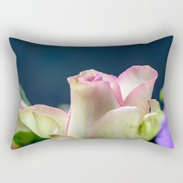 Softness of a rose Rectangular Pillow