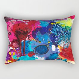 The Spark (Mixing Pallet) Rectangular Pillow