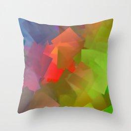 After rain comes sunshine Throw Pillow