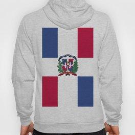Dominican Republic flag emblem Hoody