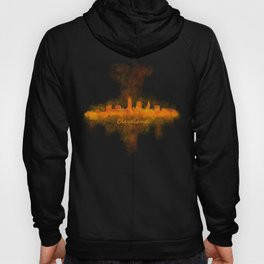 Cleveland City Skyline Hq V4 Hoody