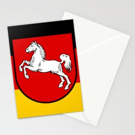 Flag of Niedersachsen (Lower Saxony) Stationery Cards