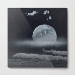 moon-lit ocean Metal Print