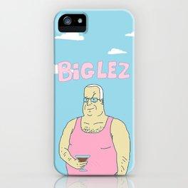 BIG LEZ w/ background iPhone Case