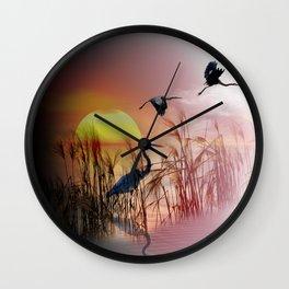 Sunset Wall Clock