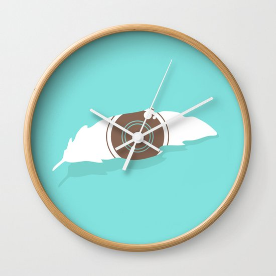 En-light-enment Wall Clock