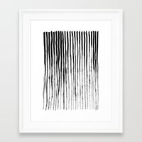 stripe Framed Art Prints featuring Stripe by Jack Newbury