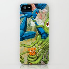 Battle iPhone Case