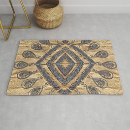 Trace of Beauty (square format) Rug