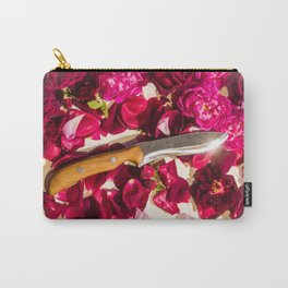 """""""Knife & Roses"""" by Chantal Elena Mitchell Carry-All Pouch"""