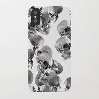 skulls iPhone & iPod Cases featuring Skulls by Rik Reimert