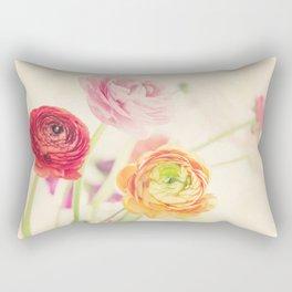 colorful spring Rectangular Pillow