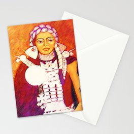Daughter of the bright sun Stationery Cards