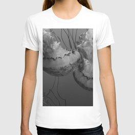 Jellyfish (Black and White) T-shirt