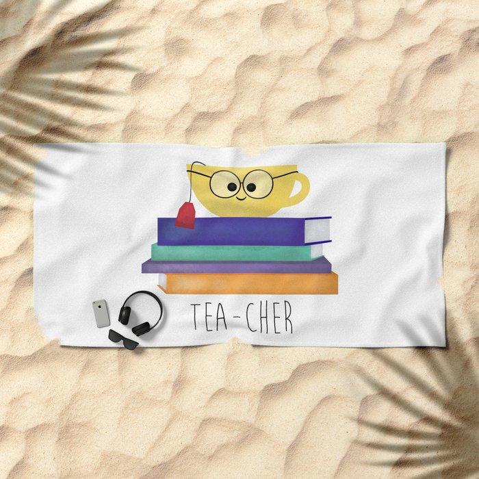 Teacher Beach Towel