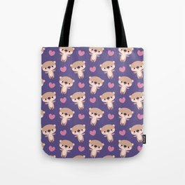Kawaii otters Tote Bag