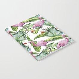 Flamingo Jungle #society6 #buyart Notebook