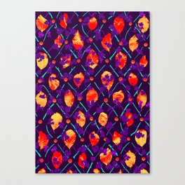 Psychedelic Natural Pattern #4 Canvas Print