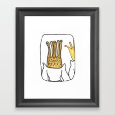 King&Queen Framed Art Print