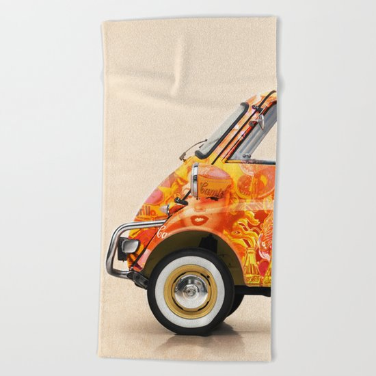 Warholetta Beach Towel
